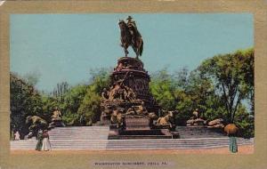 Washington Monument Philadelphia Pennsylvania 1908