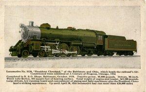 Baltimore & Ohio Railroad - President Cleveland, Locomotive #5320