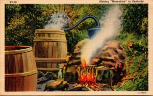 Kentucky Making Moonshine Curteich