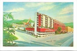 Lanai Towers, Majestic Hotel-Baths, Hot Springs National Park, Arkansas, 1940...