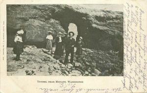 C-1905 Tunnel Moclips Washington McCammon Postcard undivided 3536