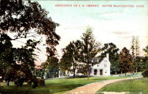 Connecticut South Manchester Residence Of J D Cheney