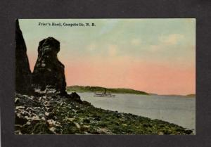 NB Friar's Head Rock Campobello New Brunswick Canada Postcard Carte Postale
