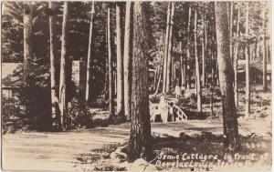 Minnesota Minn Postcard Mn '31 ITASCA PARK DOuglas Lodge Real Photo RPPC Bemidji