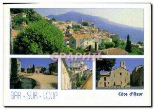 Modern Postcard Le Bar Sur Loup Gorges du loup