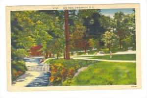 Creek In City Park, Greenville, South Carolina, 30-40s