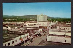 AK View Second Ave Stores FAIRBANKS ALASKA Postcard