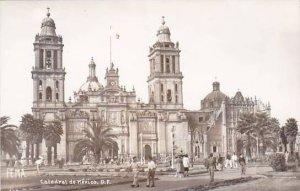 Mexico Mexico City Catedral de Mexico Real Photo