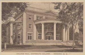 New Hampshire Hanover Dartmouth College College Hall Albertype