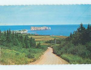 Pre-1980 TOWN VIEW SCENE Perce - Gaspe Peninsula Quebec QC p9875