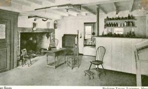 MA - Lexington, Buckman Tavern Tap Room