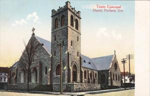 PORTLAND, Oregon, 1900-1910's; Trinity Episcopal Church