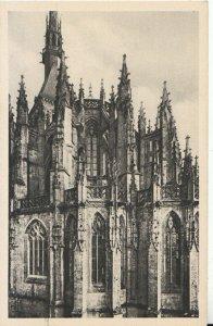 France Postcard - Abbaye Du Mont St-Michel - Chevet De L'Eglise - Ref TZ10321