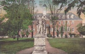 Virginia Williamsburg Sir.Chistopher Wren Building Charter Granted By King Wi...