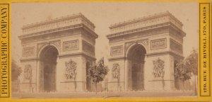 SV: PARIS , France  , 1880s-1907 , Arc de Triomphe