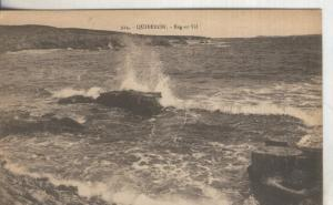Postal B/N 0178 : Quiberon-Beg-er- Vil.-Francia