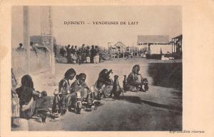 Djibouti Vendeuses de Lait, Pottery, Pots