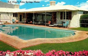 California Palm Springs Bob Hope's Home and Swimming Pool