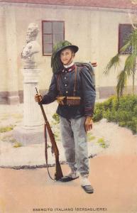 ITALY, 1900-1910's; Esercito Italiano, Bersagliere
