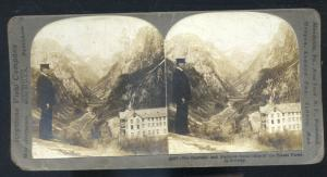 REAL PHOTO NAARDAHL STAHLHEIM HOTEL NORWAY NORGE STEREOVIEW CARD