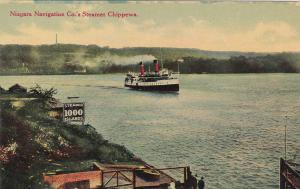 Niagara Navigation Co. Steamer CHIPPEWA 1000 Islands , Ontario, Canada, 00-10s