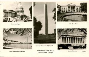 DC - Washington. Multi-View - RPPC
