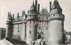 Old Postcard Chateau Langeais Facade East