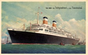 American Export Lines - SS Independence & SS Constitution