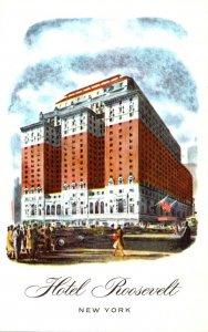 New York City Hotel Roosevelt