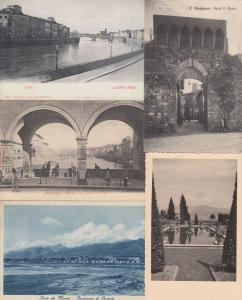 TOSCANA ITALIE  ITALY 39 Cartes Postales 1900-1940.