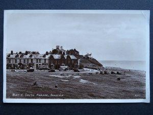 Cumbria SEASCALE Bay & South Parade c1950s RP Postcard by R.A. Postcards