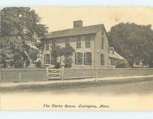 Pre-1907 HISTORIC HOME Lexington Massachusetts MA d2288