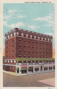 VALDOSTA, Georgia, 1930-1940s; Daniel Ashley Hotel