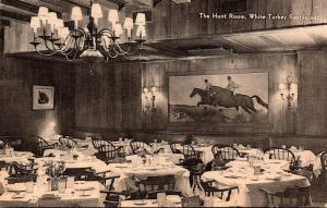 New York City White Turkey Restaurant The Hunt Room