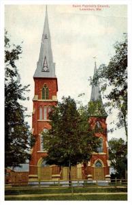 Maine Lewiston  Saint Patrick's Church
