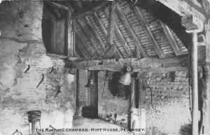 uk31664 minting chamber mint house pevensey real photo uk