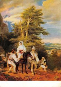 B43725 Peintures and tableaux Paints Barabas Miklos Roumanien family  postcard