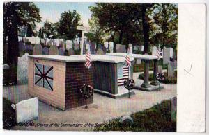 Graves of the Commanders, Portland ME