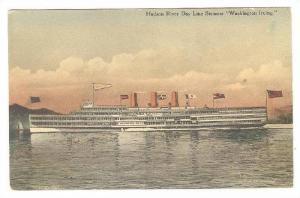 Oceanliner/Steamer, Hudson River Day Line Steamer Washington Irving 1900-1910s