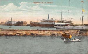 La Guaira Vargas Venezuela Waterfront Boats Antique Postcard K71310