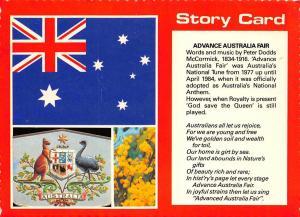 Australia Advance Australia Fair Story Card