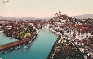 Panorama, Thun (Berne), Switzerland, 1900-1910s