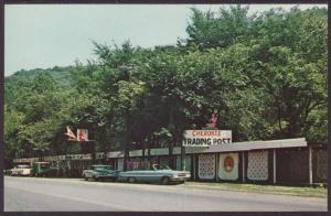 Cherokee Trading Post,Wheeling,WV Postcard