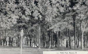 SHANNON , Illinois , 1908 ; Public Park