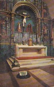 California Carmel Mission San Carlos Borromeo Main Altar