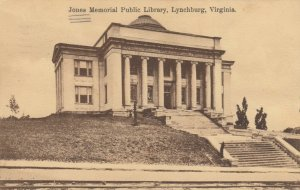LYNCHBURG , Virginia, 1910 ; Jones Memorial Public Library