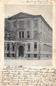 Louisville Kentucky 1906 Postcard Dental College