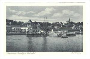 Starnberg , Bavaria, Germany 1910-30s Waterfront
