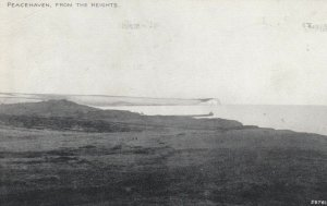 PEACEHAVEN, Sussex, England, PU-1926; From the Heights