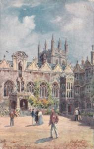 England Oxford Oriel College 1910 Tucks